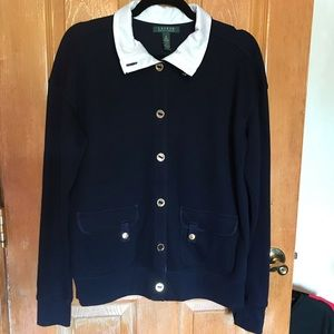 Lauren Ralph Lauren Vintage Button Sweater